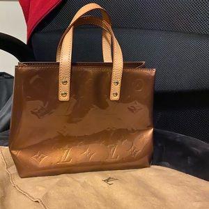 Louis Vuitton Shoulder Bag Reade Pm Bronze Vernis